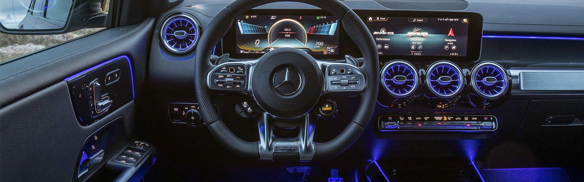 Mercedes-AMG GLB внедорожник