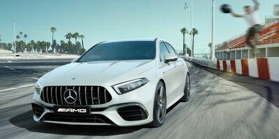 за 3,9 с.[1] Mercedes-AMG A 45 S 4MATIC