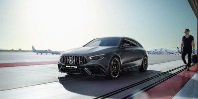 за 4,0 с.[2]Mercedes-AMG CLA 45 S 4MATIC