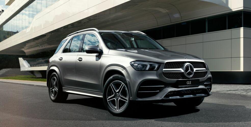 Специальное предложение на Mercedes-Benz GLE