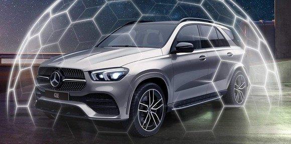 Спутниковая противоугонная система Mercedes-Benz